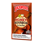 BACKWOODS Honey Bourbon 5 Pack