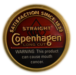 COPENHAGEN Straight L/C Can