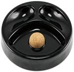 PIPE Ashtray Black A118