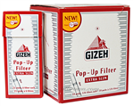GIZEH 5.3mm Popup XS Filt 10ct