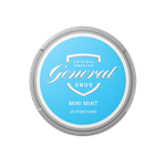 GENERAL Snus Dry Mini Mint Can