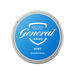 GENERAL Snus Mint Portion Can