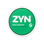 ZYN Spearmint 6mg Can
