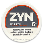 ZYN Smooth 6mg Can
