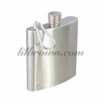 FLASK 6oz S/Steel Flask