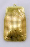 CIGARETTE Case 100mm Gold Mesh