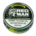 RED MAN Wintergreen L/C Can