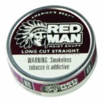 RED MAN Straight L/C Can