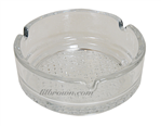 ASHTRAY Glass Fancy  4""