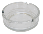 ASHTRAY Glass Plain 4""