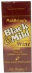 BLACK-MILD Wine Upright 25ct