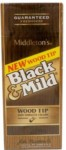 BLACK-MILD Wood Tip Upr 25ct