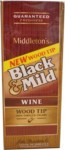 BLACK-MILD WoodTip Wine Upr 25