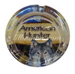 GLASS AH WildLife Ashtray 8ct