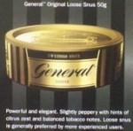 GENERAL Snus Loose Can