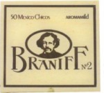 VILLIGER Braniff #2 Box 50ct