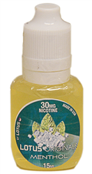 LOTUS Menthol 30mg 15mL 4ct