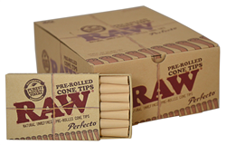 RAW Nat Pre-Rolled Cone Tips20
