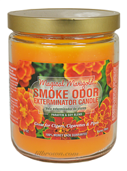 SMOKE ODOR Candle MagMarigold