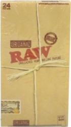 RAW Organic 1 1/4 Box 24ct