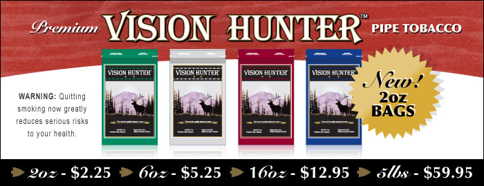 Vision Hunter Premium Pipe Tobacco