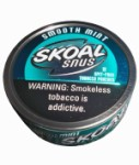 SKOAL Snus Smooth Mint Can