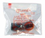 PIPE Bits Rubber 2ct